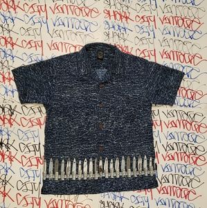 Vintage Maui And Sons Button Down Shirt Youth Lrg
